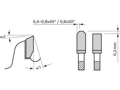Bosch 2608644133 165 mm x 20 mm x 48 T Lame de scie circulaire