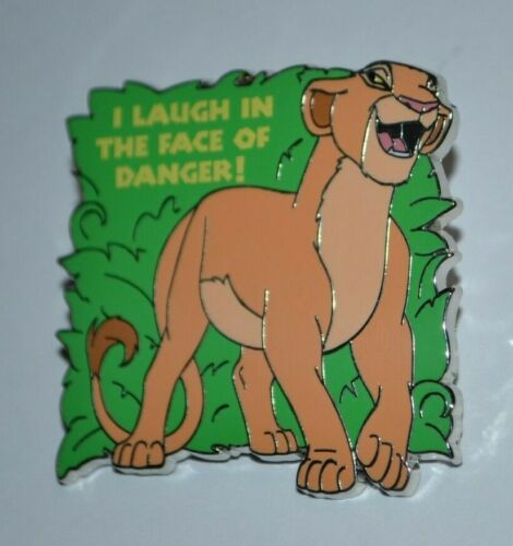 Disney Simba I Laugh In The Face Of Danger Lion King 25 Anniversary Mystery Pin