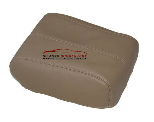 08 09 10 Ford F250 F350 Lariat Center Console Lid Cover Tan