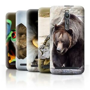 Stuff4-posterior-case-cover-skin-Para-Asus-zenfone-2-ze551ml-wildlife-Animales