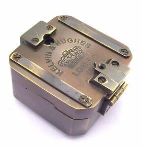 Solid-Brass-Kelvin-amp-Hughes-1917-Brunton-Compass-Antique-Compass-Vintage-Compass