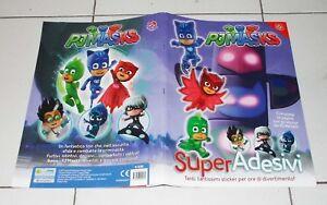 Pj Masks Super Pigiamini Adesivi Album Sticker Completo Figurine Ebay