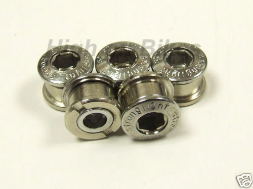 350002 Single Speed Stronglight Chainring Bolts Track Bike
