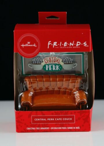 New Hallmark Friends TV Show Central Perk Couch Christmas Tree Ornament