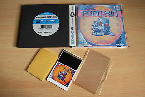Atomic-ROBO-KID-NEC-PC-Engine-Hucard-import-JAP-cib