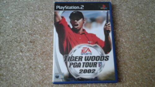 1 of 1 - TIGER WOODS PGA TOUR 2002 (PS2) USED