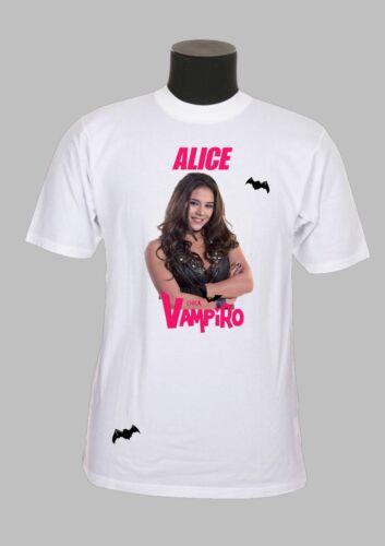 tee shirt enfant REF 59 chica vampiro personnalisé avec prénom