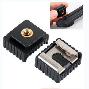 2x-Adattatore-per-montaggio-a-slitta-flash-a-1-4-034-per-supporto-per-CRIT