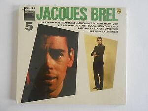 JACQUES-BREL-VOL-5-034-LES-BOURGEOIS-034-CD-ALBUM-NEUF-gt-PORT-GRATUIT