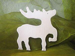 rentier sperrholz weihnachten basteln holz vorlage ebay. Black Bedroom Furniture Sets. Home Design Ideas