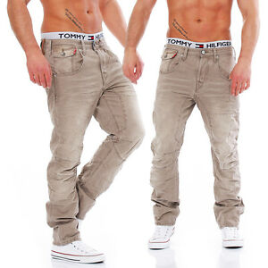 JACK-amp-JONES-STAN-OSAKA-CAMEL-Anti-Fit-Men-Herren-Jeans-Hose
