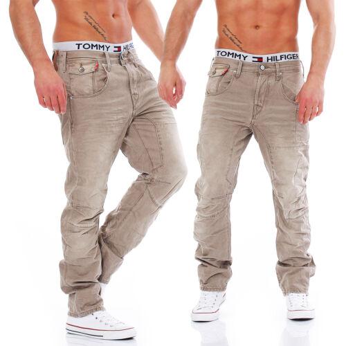 Jack /& Jones-stan Osaka-CAMEL-Anti Fit-MEN//HOMME jeans pantalon