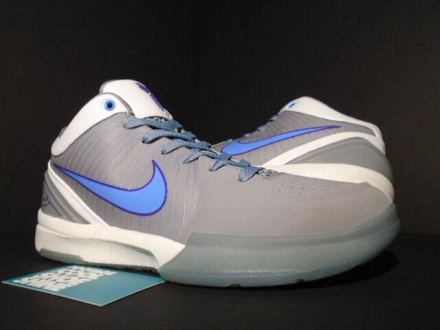 09 Nike Zoom KOBE KOBE KOBE IV 4 MINNEAPOLIS MPLS LAKERS STEALTH grigio blu bianca viola 8 7b840f