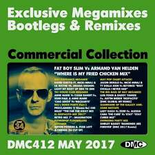 DMC Commercial Collection 412 Club Hits Mixes & Two Trackers DJ Double Music CD