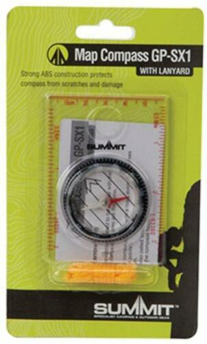 Summit Map Compass With Lanyard GP-SX1  Summit For Hiking Orienteering Camping