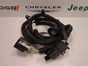 trailer wiring connectors for jeeps 07-16 jeep wrangler new trailer tow hitch 4 way flat ...