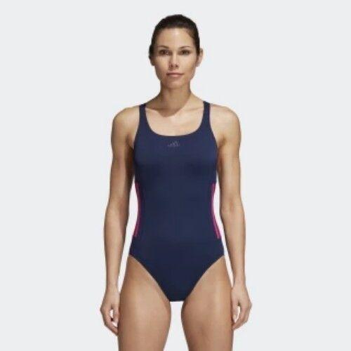 adidas 3 stripe swimming costume