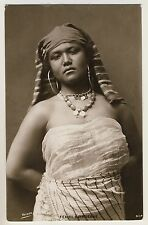 Egypt YoUNG WOMAN / JUNGE FRAU Ägypten * Vintage 20s Ethnic Photo PC by REISER