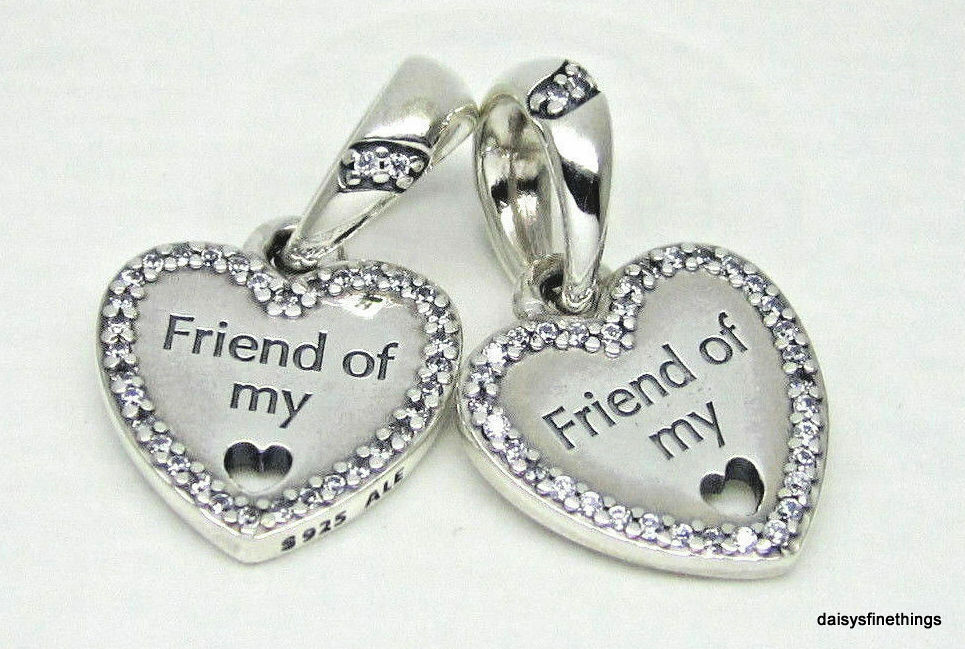 Floating Charms locket friendship friends heart hearts blue pink purple red