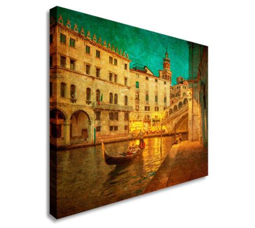 Venice Italy Canal Gondola Wall Picture Prints Canvas Art Cheap