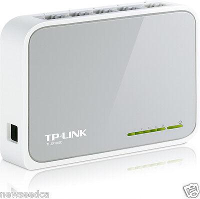 Renewed TP-LINK TL-SF1005D 5-Port 10//100Mbps Desktop Switch