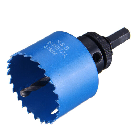 38mm-81mm Bi metal Hole Saw Arbor Hole Saw Drill Bit Metal Wood Plastic