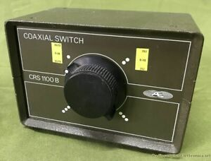 Coaxial Switch AE mod. CRS1100B