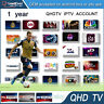 12 Months QHDTV Smart IPTV TV Subscription 1300+ Channels 2000+ VOD