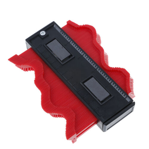 Red 120MM Shape Contour Duplicator Profile Gauge Tiling Laminate Tiles Edge