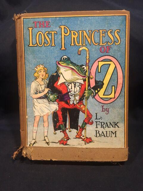 The Lost Princess Of Oz L. Frank Baum Hardcover 1917