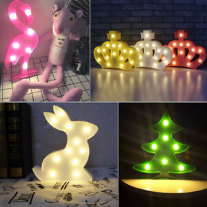 Details About Wall Lamps Multi Shaped Led Night Light Brightness For Baby Room Bedroom Cute