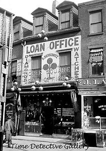 Details about Pawn Shop, New York City - 1920s - Historic Photo Print
