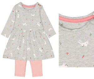 Ex Chain-store Kids Girls Denim Blue Playsuit Cotton Sleepsuit Gift New