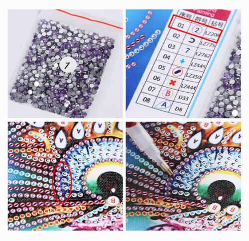 5D Diamond Painting Embroidery Cross Craft Stitch Pictures Arts Sweet Home Decor