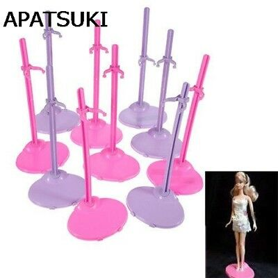 5PCS Doll Toy Stand Display Support Prop Up Mannequin Model Holde La