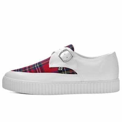 T.U.K Shoes VLK Pink Leopard Vamp Creeper Sneaker