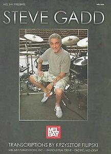 Gadd-Steve-Filipski-Krz-Mel-Bay-Presents-Steve-Gadd-UK-IMPORT-BOOK-NEW