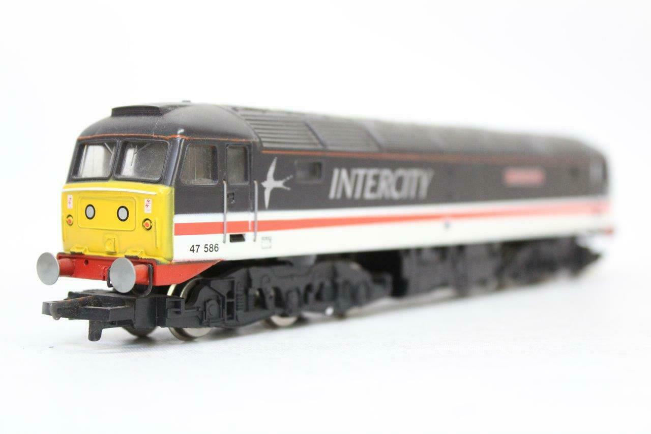 HORNBY R.288 BR CO-CO DIESEL LOCOMOTIVE CLASS 47 INTERCITY OO GAUGE 1 76 N15
