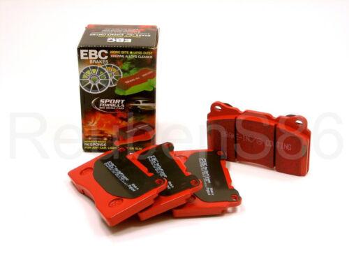 EBC REDSTUFF CERAMIC PERFORMANCE LOW DUST BRAKE PADS FRONT DP3610C