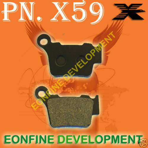 BRAKE PADS For KTM XC525 SMR560 SMC625 SXC625 SMR650