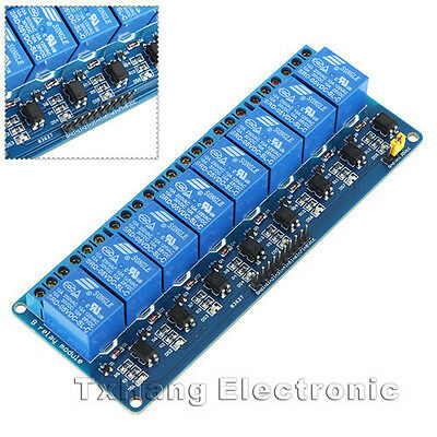 2pcs 5V Eight 8-Channel Relay Module With optocoupler For PIC AVR DSP ARM