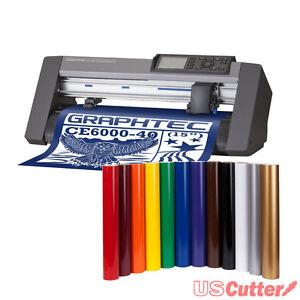 Graphtec 15 ce6000 40 desktop vinyl cutter plotter for Craft vinyl cutter reviews