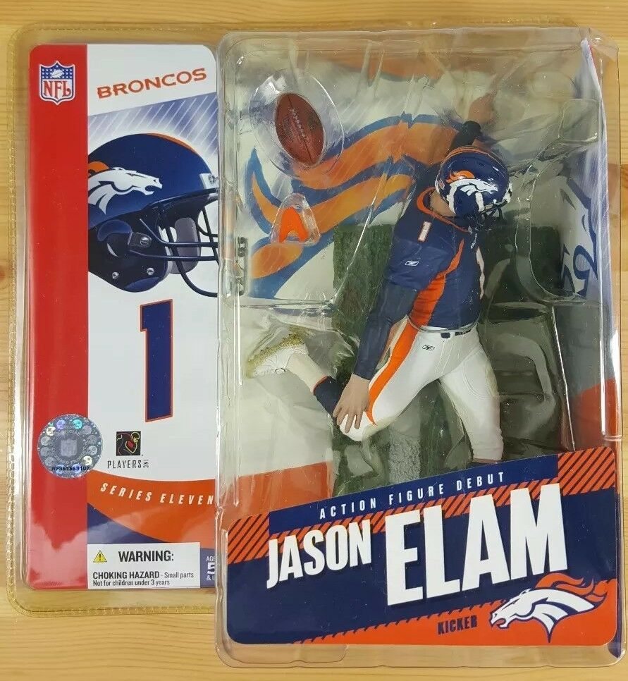 2005 McFarlane Football Series 11-12 Jason Elam FP SURPRISE CHASE