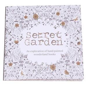 2016 English Version Secret Garden Coloring Book 20 Pages