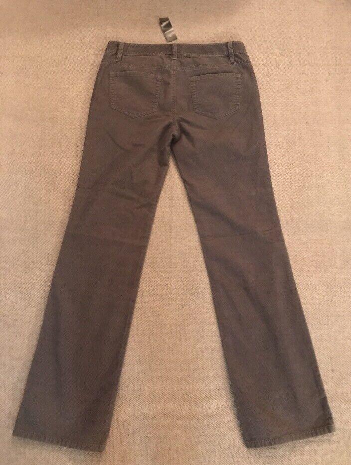 Ann Taylor Loft damen's Original Stiefel Corduroy Pants Größe 4 NEW  49  E3