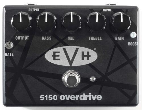 MXR EVH 5150 Overdrive Pedal Eddie Van Halen EVH BLACK /& WHITE STRIPES PICK TIN
