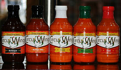 Circus Wings Sauce Medium 18oz Thick Best Hot Wing Sauce Recipe In The World 862624000213 Ebay