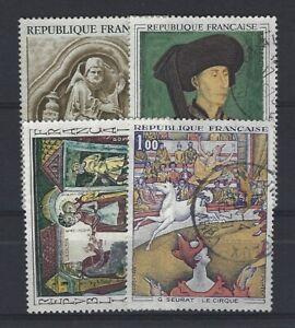 FRANCE  n° 1586/1588A oblitéré