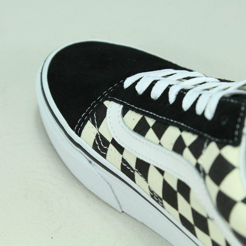 Vans Old Skool Primary Größe Check Trainers Schuhes Skate UK Größe Primary 6,7,8,9,10,11,12 08b3c1