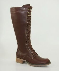 Sebago-Saranac-Tall-Lace-Waterproof-Boots-Schnuerstiefel-Damen-Stiefel-B43180